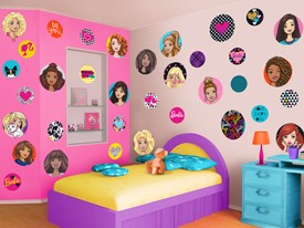 Barbie Patches Wall Decal Set