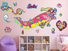 Barbie Skaters Wall Decal Set