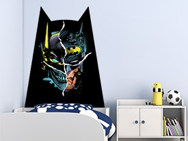 Batman Headboard Wall Decal