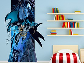 Batman Flying Wall Decal