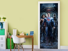 Batman v Superman Door 1 Wall Decal