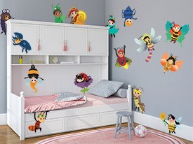 Bug Friends Wall Decal