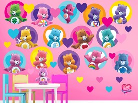 Care Bears Friends Wall Decal Set