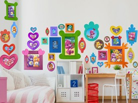 Care Bears Frames Wall Decals