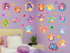 Care Bears Badge Wall Decals