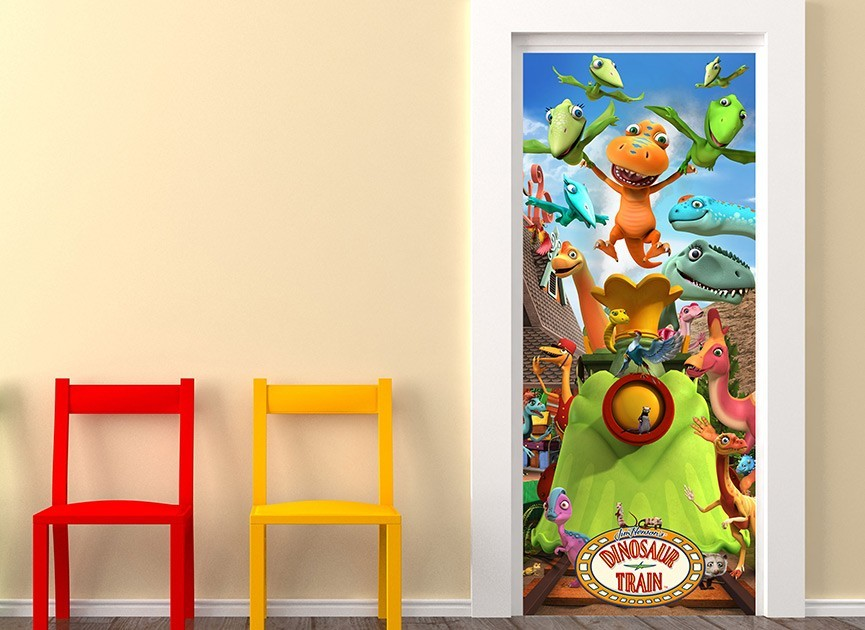Dinosaur Metal Wall Decor For Kids Room