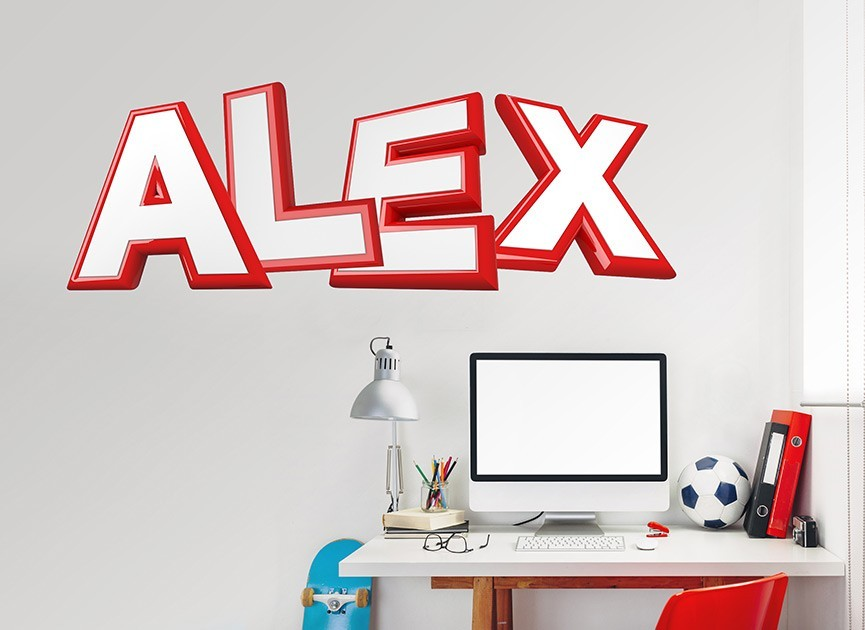customizable game show font wall decals
