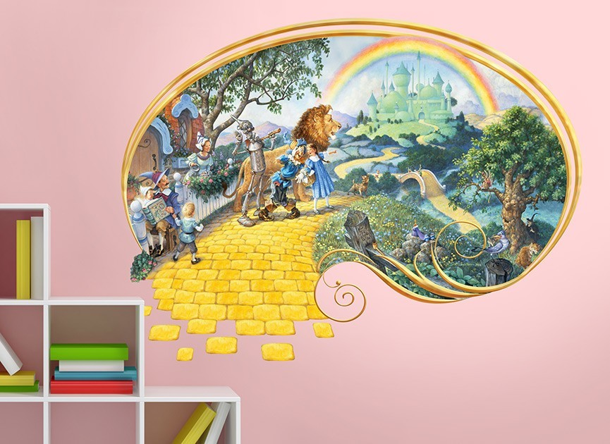 wizard of oz wall decal wizard of oz wicked witch of the west vinyl wall sticker decal