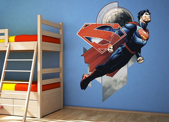 Superman Flying Wall Decal