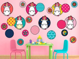 Minions & Fluffy Patches Wall Decal Set
