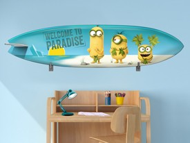 Minions Surfboard Wall Decal 2