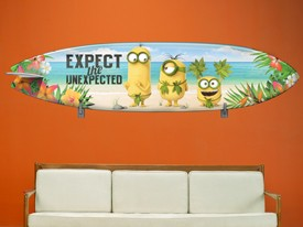 Minions Surfboard Wall Decal 3