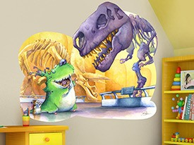 Dinosaurs & Monsters Wall Decals