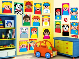 Fisher-Price Little People Wall Decals 2