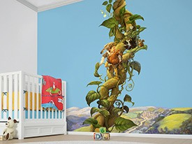 Jack and the Bean Stalk Wall Decal