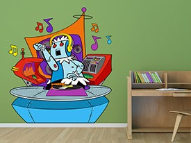 Jetsons DJ Rosie Wall Decal