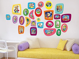 Jetsons Family Frames Wall Decals