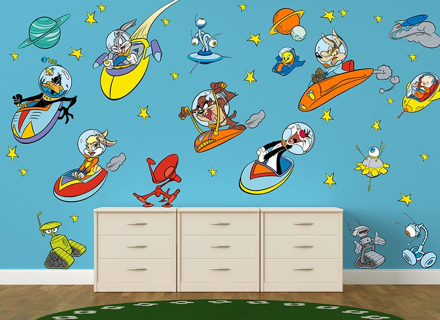 Looney Tunes Wall Decals - Elitflat
