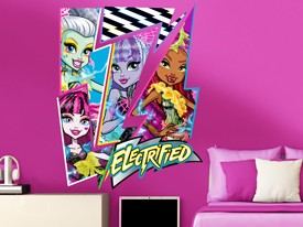 Monster High Character Wall Decal Set