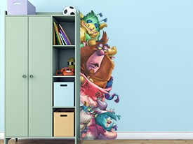 Monsters Are Watching Wall Decal