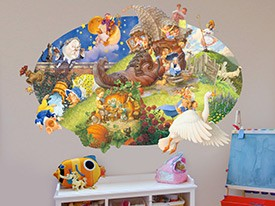 Mother Goose Wall Decal