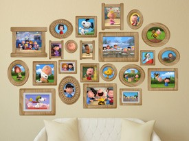 Peanuts Photo Album Wall Decals