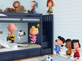 Peanuts Party Wall Decals