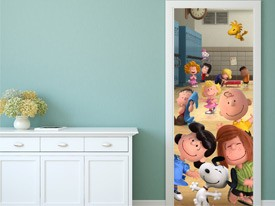 Peanuts at School Wall Decal