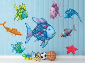 Rainbow Fish And Friends Wall Decals