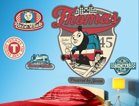 Thomas & Friends Badges Wall Decal