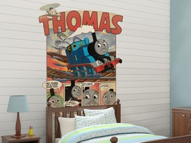 Thomas & Friends Comic Wall Decal