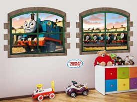 Thomas & Friends Window Wall Decal