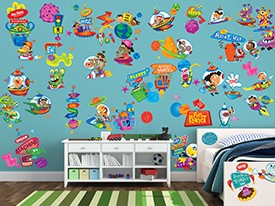 Outer Space Wall Decal Set