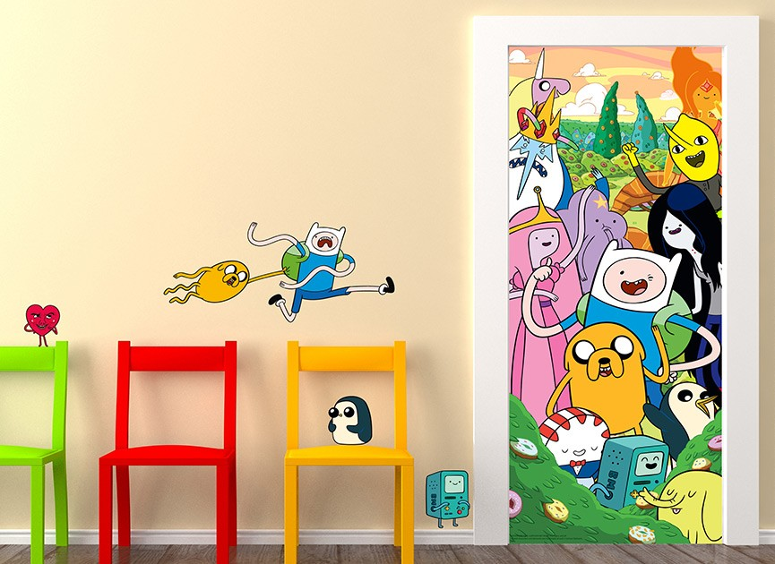 Adventure Time Wall Decals and Wall Graphics. Shop Wall-Ah!