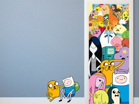 Adventure Time Door or Wall Decal