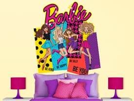 Barbie Large Wall or Headboard Decal