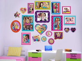 Barbie Photo Album Wall Decal Set