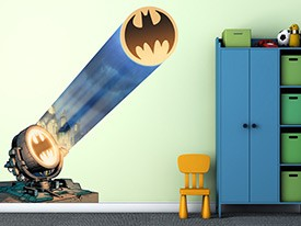 Batman Bat Signal Wall Decal