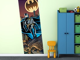 Batman Watching Over Gotham Wall Decal