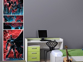 Batman Comic Strip Wall Decal