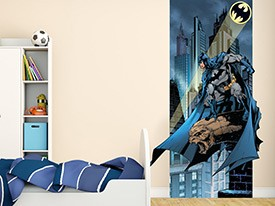 Batman & Bat Signal Wall Decal