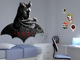 Batman: Arkam City Wall Decal