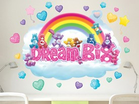 Care Bears Dream Big Rainbow Wall Decal