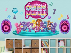 Care Bears Dance Party Wall Decals