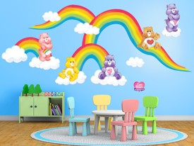 Care Bears DIY Rainbow Wall Decal Set