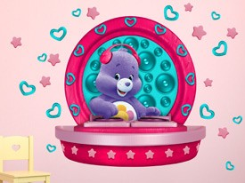 Care Bears Harmony Bear DJ Wall Decal