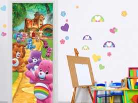 Care Bear Doorway to Care-A-Lot Wall Decal
