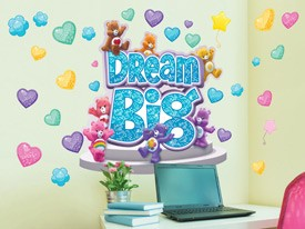 Care Bears Dream Big Wall Decals