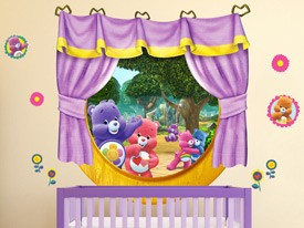 Care Bears Harmony Window Wall Decals