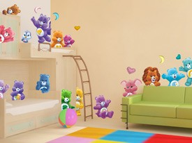 Care Bears & Cousins Wall Decals